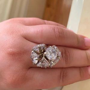 925 silver zirconia stones ring